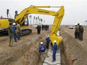 Dự án thoát nước Hà Nội giai đoạn II - Công ty đã cung cấp các sản phẩm hố ga bê tông đúc săn