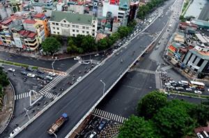 Đường Liễu Giai – Đội Cấn. Công trình kỷ niệm đại lễ 1000 năm Thăng Long - Hà Nội